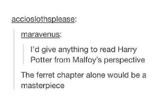 Malloy was jealous of Harry and his friend's loyalty. He was never bad because he liked it. He never liked it, but he had a name to live up to: Malfoy. He wanted to be nice, but he knew that his dad would be disgraced if he kept company with a 'mudblood', so Draco gave up his happiness/satisfaction to honor his family.