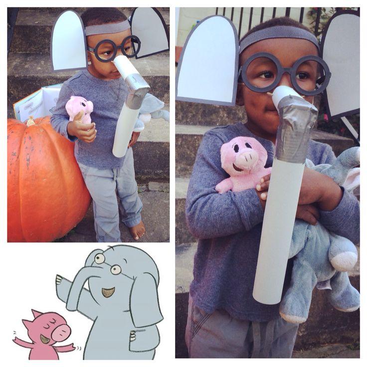 It S Gerald From Elephant Amp Piggie Super Easy Diy Costume