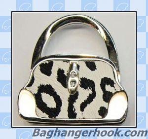 Handbag Shaped Foldable Bag Hanger/Purse Hanger/Handbag Hook