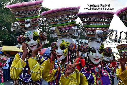 Masskara Festival in Bacolod City (Philippines)