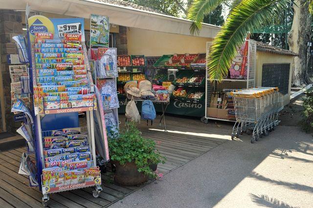 Notre supermarché sur place. / Our supermarket on site. #Domaineducolombier