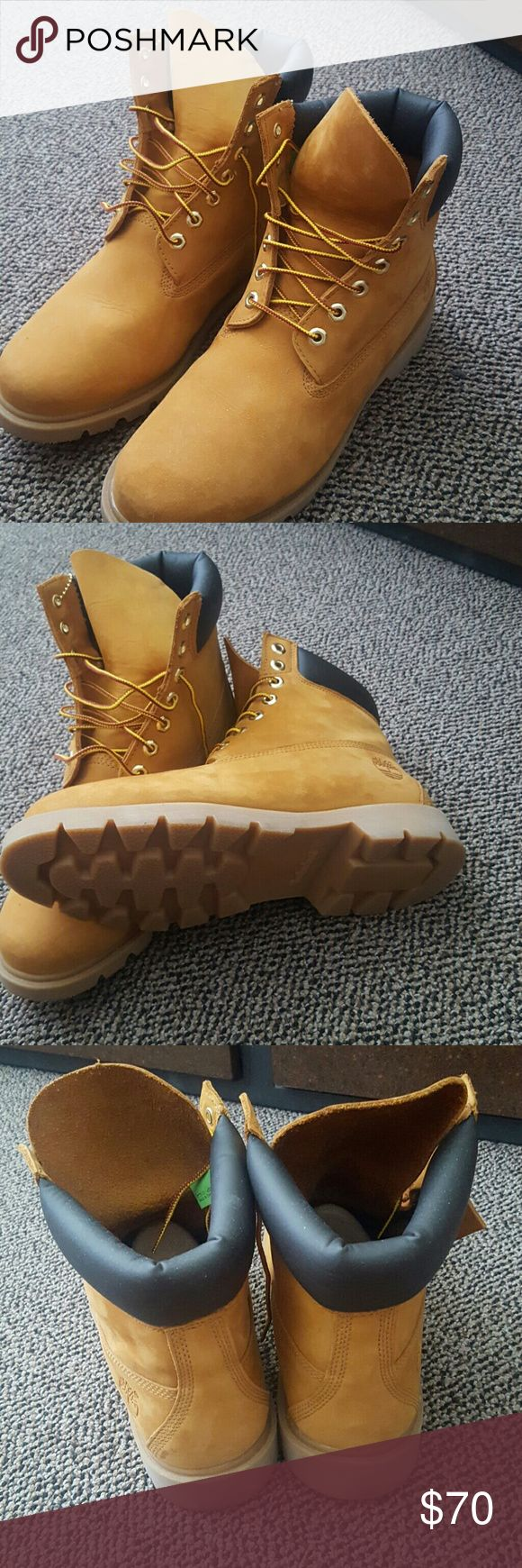 ( Brand New) Mens Wheat Timberland Boots (sz 9.5) Like New and in excellent condition. Timberland Shoes