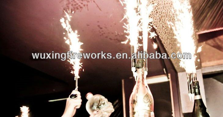 10cm Birthday Cake Candle Champagne Sparklers Ice Fountain - Buy ...