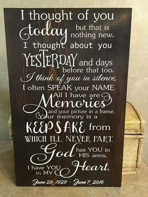 Heartbreaking And Beautiful Tribute Signs Pinterest