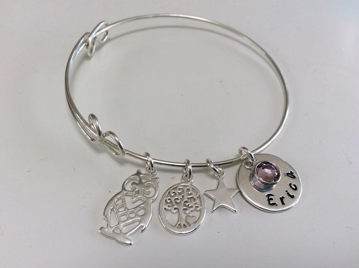 Silver bracelet congrats from Mum to daughter post exam results #soproud!