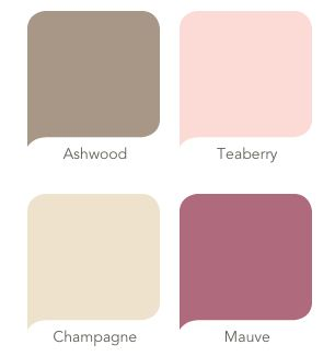 Maybe these for Michelle's main wedding colours (with bridesmaids in nude/ivory/champagne dresses allowing for other subtle purple/blue/pink shades to be used in flowers such as hydrangeas)