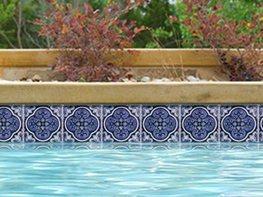 Swimming Pool Tile Ideas swimming pool and spa tile design ideas from tile outlets of america Pool Supply Unlimited Has Some Of The Best Prices When Shopping For National Pool Tile Casablanca
