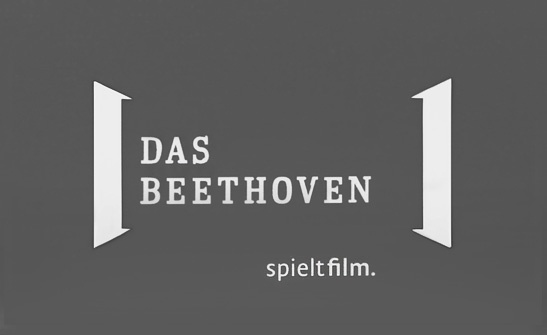 Logo und Slogan für das Beethoven Kino
