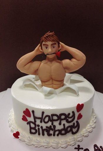 Apologise, but, Adult naked cake topper what words