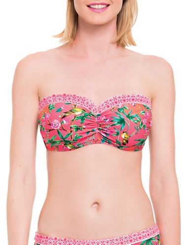 Marques | Bonnets D et plus  | Japanika D-E-F-Cup Bandeau Bikini Top | La Baie D'Hudson