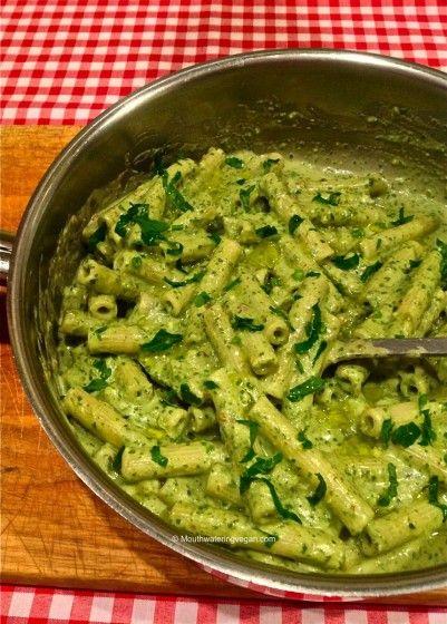 'Pesto Cremoso' – Super Creamy Pesto - Mouthwatering Vegan Recipes™ « Mouthwatering Vegan Recipes™