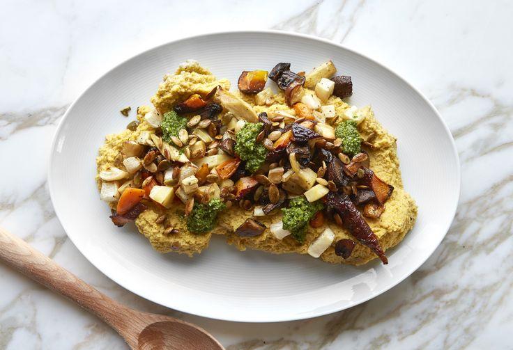 In the Kitchen: Cauliflower Polenta