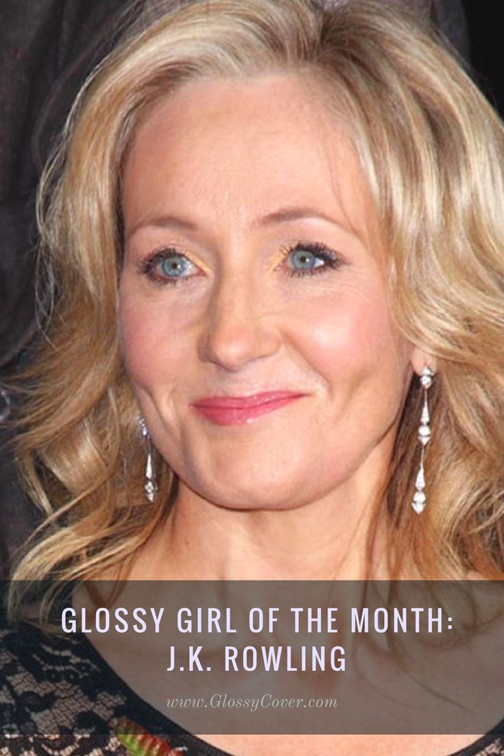 Harry Potter's J.K. Rowling is the Glossy Girl of August. Learn about how she is inspiring other women to be the best they can and succeed in all aspects of life