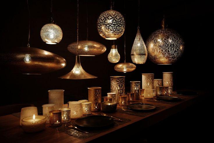 Tepaná svítidla Zenza | LePatio