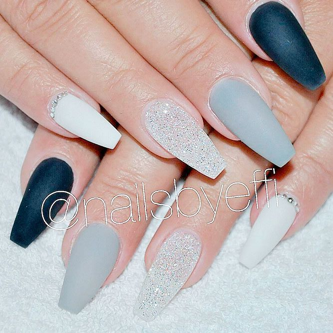 Coffin Nails Design Ideas to Consider for Your Next Mani ★ See more: https://naildesignsjournal.com/coffin-nails-design-ideas/ #nails