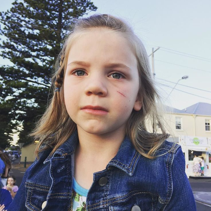 """Despite the concerned face """"Scarface Hoo Ha Ha"""" did enjoy NYE watching the parade #portfairy #moyneyana #rockyourbaby by composedbyapril"""