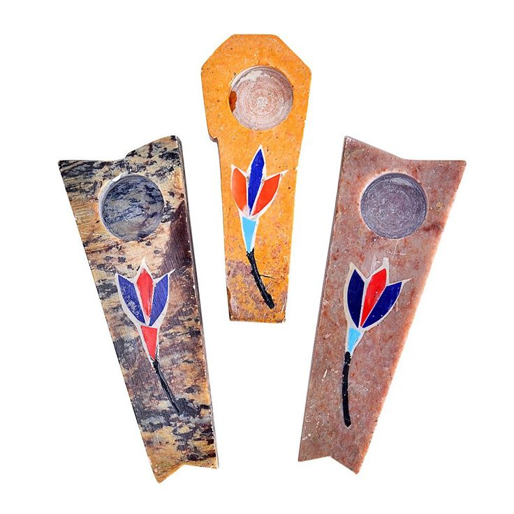 """Onyx Flower Hand Pipe // Price: $13.99 // Let your next smoke session blossom into a truly beautiful experience with these assorted 3"""" Onyx Flower Hand Pipes. Carefully crafted from onyx, each of these hand pipes features beautifully painted, vibrantly colored floral designs. Flowers are often symbols of abundance, as is the color green, so when you combine your green with these flowers, you'll be inhaling some ... #shoppinglistOnyx Flower Hand Pipe"""