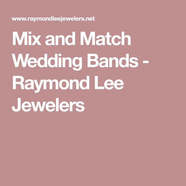 Mix and Match Wedding Bands - Raymond Lee Jewelers