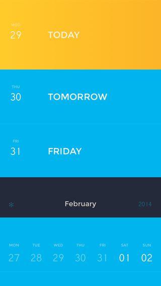 Peek Calendar