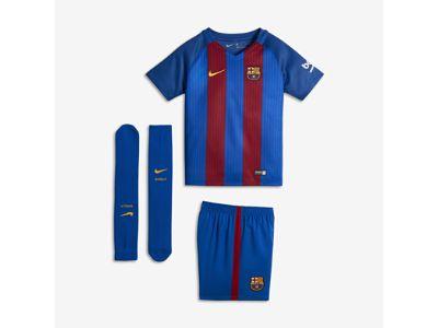 2016/17 F.C. Barcelona Stadium Home Younger Kids' Football Kit (3-8)