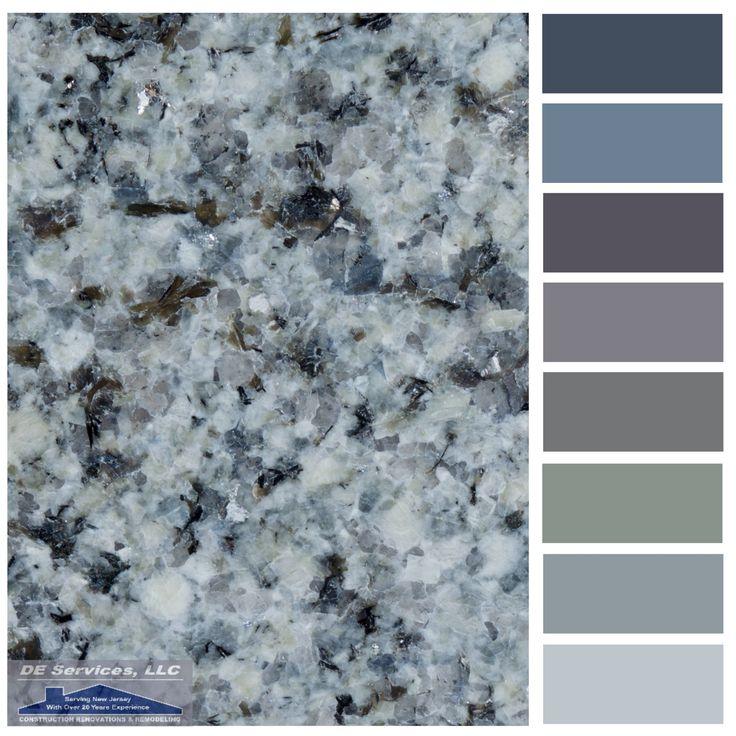 Azul Platino Granite De Color Palettes Pinterest See