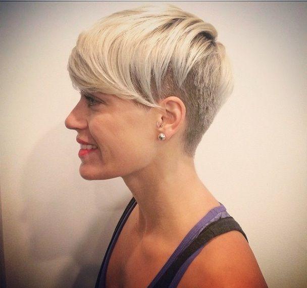 Die Trendfarben 2016: Platin, Silber, Hellblond …, 13 trendige Kurzhaarschnitte - Seite 2 von 13 - Neue Frisur