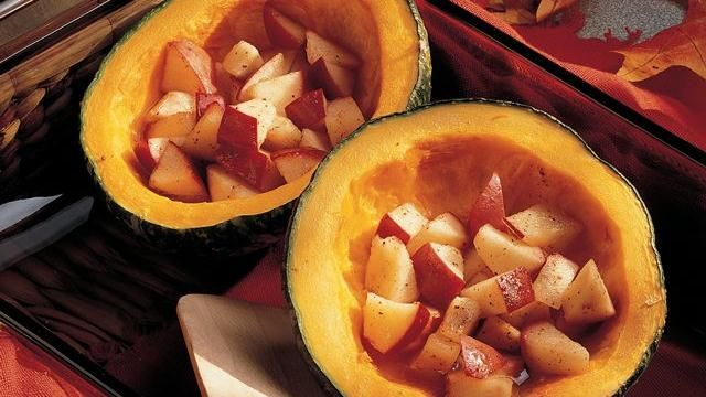 Buttercup Squash with Apples: Side Dishes, New Recipes, Cooking Sprays, Buttercup Squash, Apples Recipes, Squashes, Apples Cooking, Winter Squash, Acorn Squash
