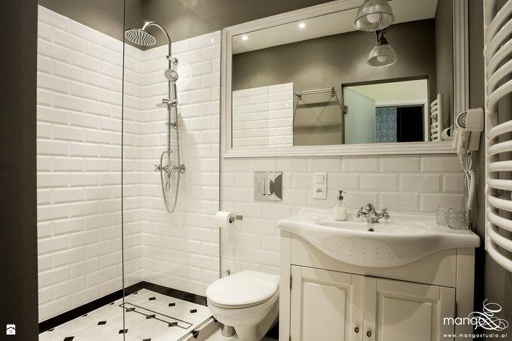 Łazienka styl Klasyczny - zdjęcie od MANGO Studio Architektury Wnętrz i Ogrodów…