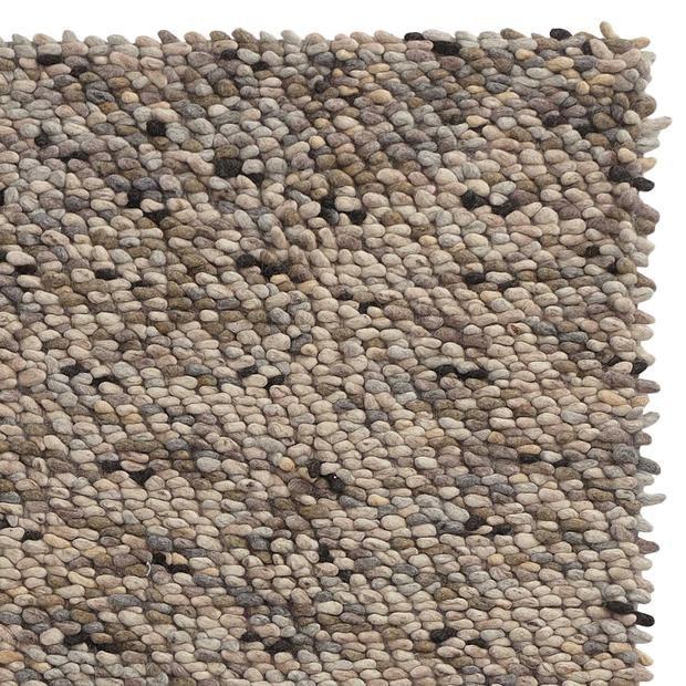Teppich Thela Natur Steingrau Elfenbein Teppich Steine Natur