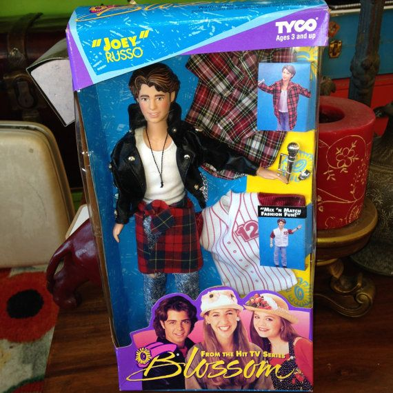 vintage 1993 Tyco Blossom TV show Joey Russo doll  Joey Lawrence MIP $52.00