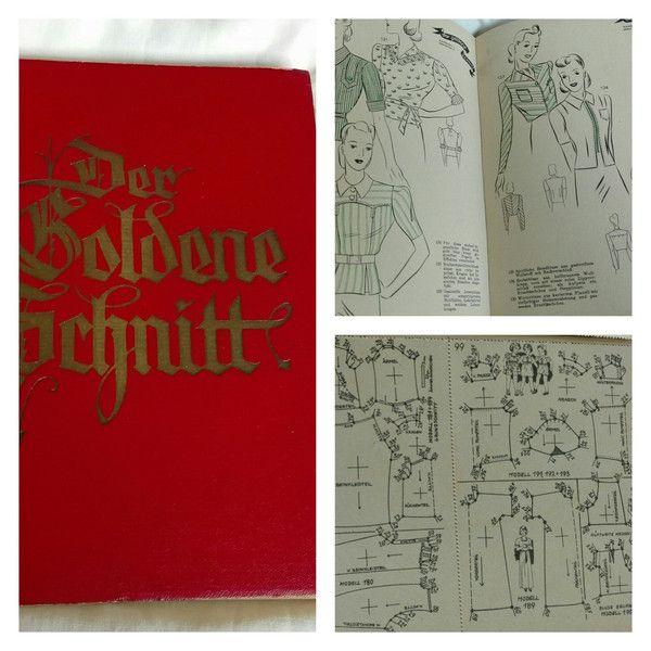 Vintage Magazine - Der Goldene Schnitt..40er Jahre - ein Designerstück von Es-Bri bei DaWanda