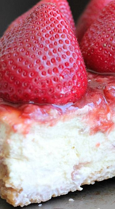 Strawberry Cheesecake + A Giveaway
