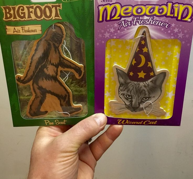 Image of Meowlin/Bigfoot Air Freshener pack