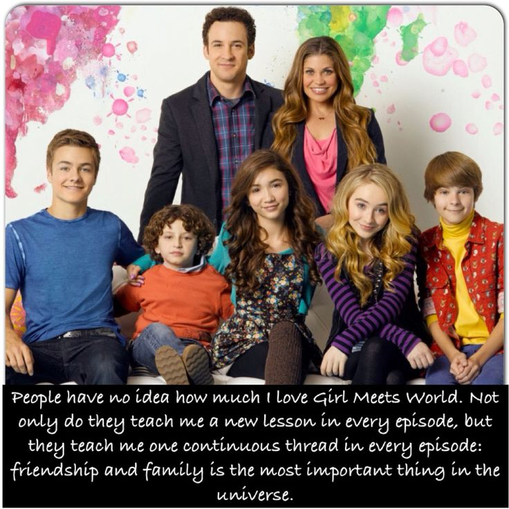 Girl Meets World Confessions