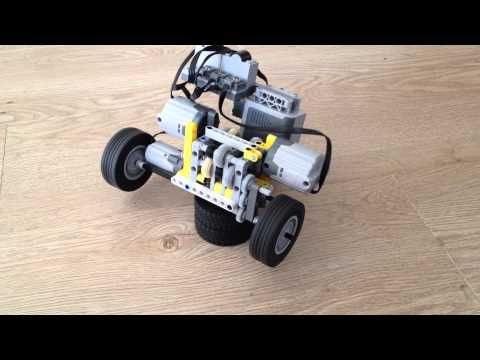 Compact lego gear box with 3 gears and remote gear shifting