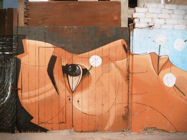 A arte de rua de Jonathan Rivera