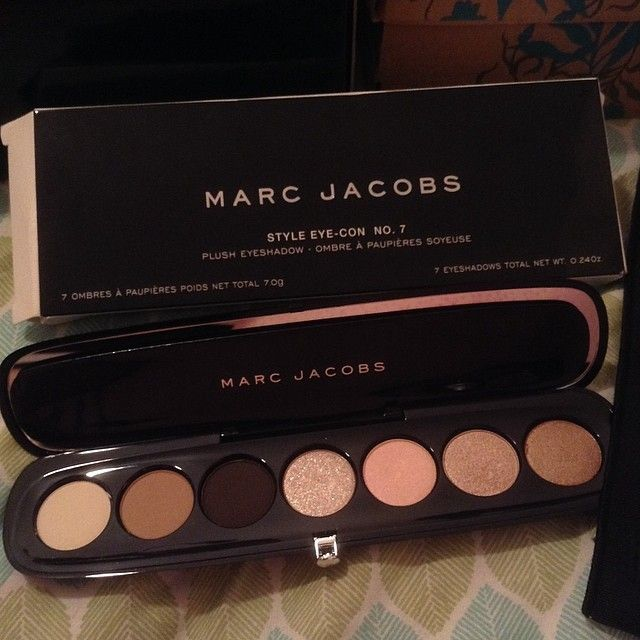 Marc Jacobs pallete..beautiful selection
