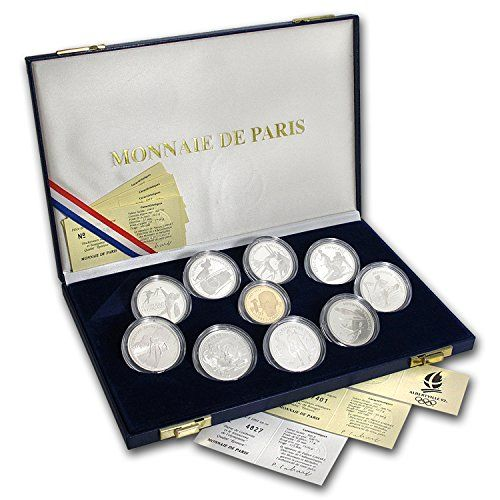 FR 1992 France 10-Piece Set Proof Albertville Olympics Brilliant Uncirculated * Check out the image by visiting the link.