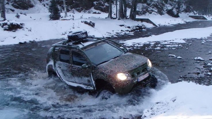 Rubber track conversion system ACF for Renault or Dacia Duster