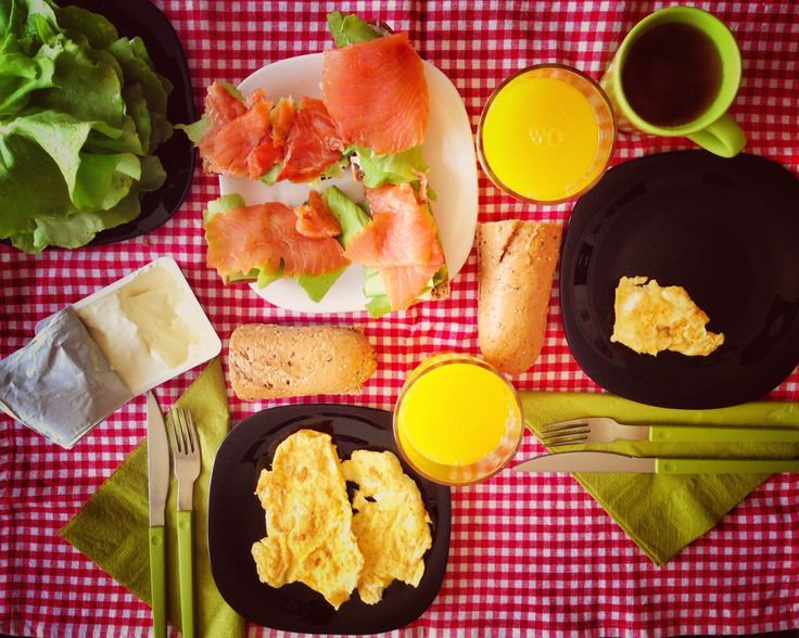 Breakfast at home