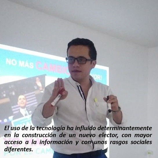 """Viernes de #politips 👉 """"Elector 2.0 y el nuevo paradigma de la comunicación política"""" será mi conferencia en la @CumbreCP en México  #Campaña #Compol #Elector"""