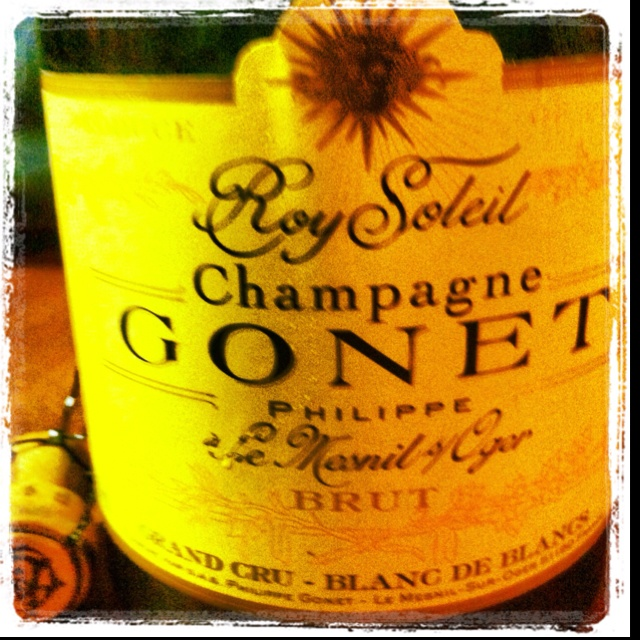 The Glorious Champagne Gonet Roi Soleil!!