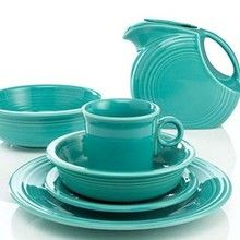Fiesta Turquoise. This looks so good mixed with my stash of colors.