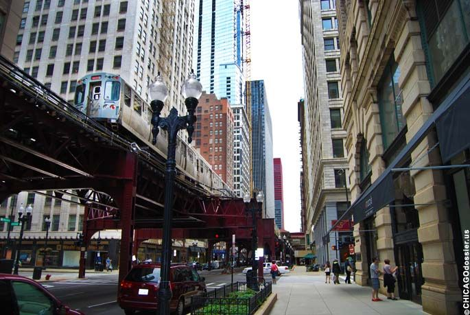 Chicago Loop | Chicago Loop Train