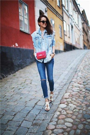 Moda bloguera: chaleco vaquero