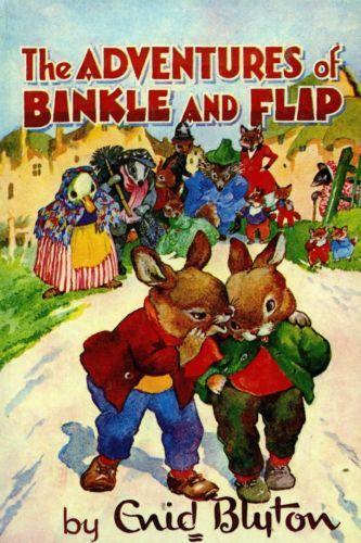 The-Adventures-of-Binkle-and-Flip-by-Enid-Blyton-FREE-AUS-POST-Vintage-HB-1967  www.sleepybearbooks.com