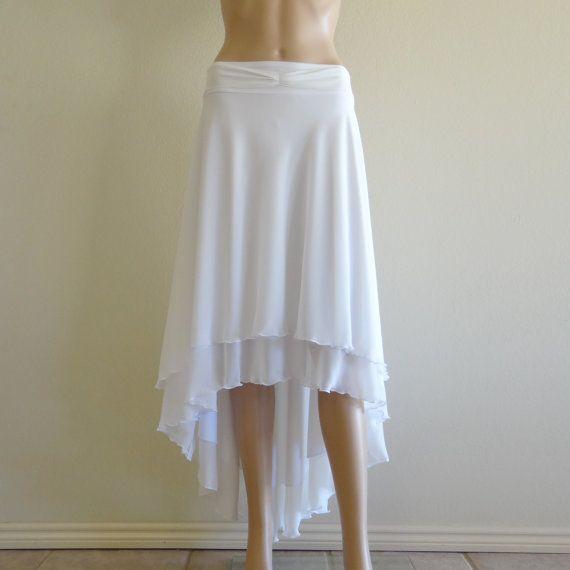 White Maxi SkirtWhite Long Skirt by lynamobley2012 on Etsy, $41.99