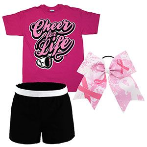 Breast Cancer Campwear Package - 2 by Cheerleading Company