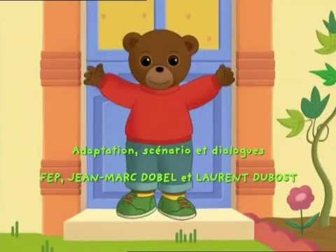 Petit ours brun - rentree a l'ecole