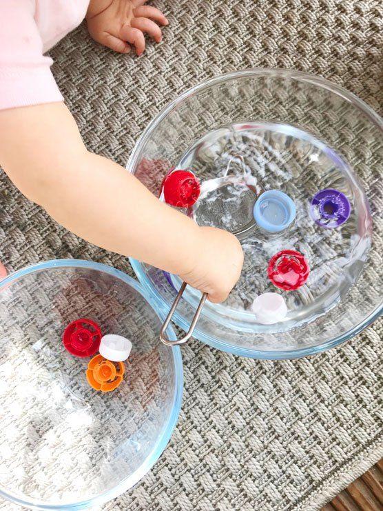 10 activités Montessori 12-18 mois (DIY et pas chères